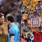 Messi ngợi ca Totti là 'người đáng kinh ngạc'