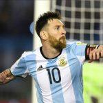 Messi lập công, Argentina nhảy vọt tại vòng loại World Cup 2018