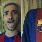 Con trai Mourinho cuồng nhiệt mừng chiến thắng của Barca
