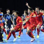 Futsal Việt Nam đón tin vui sau kỳ tích ở World Cup 2016