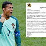 Ronaldo được đội nghiệp dư Ireland đề nghị chuyển nhượng