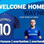 Rooney thừa hưởng áo số 10 của Lukaku tại Everton