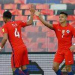 Chile và Colombia chung tay đẩy Argentina xuống vị trí thứ năm