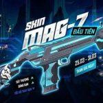 Free Fire ra mắt skin đầu tiên cho khẩu shotgun MAG-7: MAG-7 Phán Quyết