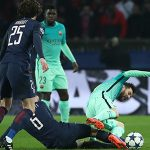 Messi, Suarez bị chấm điểm 2 ở trận thua PSG