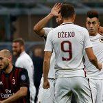 Roma đè bẹp Milan, níu hy vọng trên đường đua scudetto