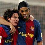 Ronaldinho: 'Tôi có vài điều có thể truyền thụ thêm cho Messi'