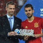 Barca và Real tranh nhau mua cầu thủ hay nhất U21 châu Âu