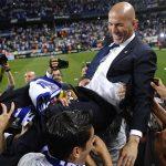 Zidane lần thứ hai giành giải HLV hay nhất tháng La Liga