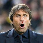 Conte chảy máu mũi khi mừng bàn thắng của Italy