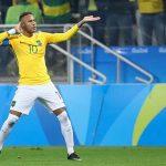 Neymar sút phạt tuyệt đẹp, Brazil vào bán kết Olympic