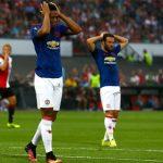 Man Utd thua trận ra quân tại Europa League