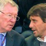 Conte phản bác Ferguson vì loại Chelsea khỏi danh sách ứng viên vô địch