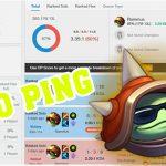 Xuất hiện game thủ chơi trong điều kiện 200 ping, spam Rammus lên Thách Đấu