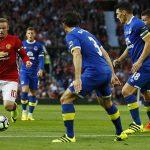 Man Utd hòa Everton trong trận cầu tôn vinh Rooney