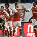Arsenal thắng ngược Man City ở trận giao hữu cuối cùng
