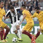 Juventus bị Sevilla cầm hòa trong trận ra quân Champions League