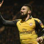 Giroud ghi bàn phút chót, Arsenal thắng ngược tại Cup FA