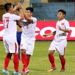 Nhờ hai quả phạt đền, U19 Việt Nam vượt qua U19 Philippines