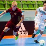 Việt Nam dừng bước ở vòng 1/8 giải FIFA Futsal World Cup