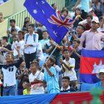 CĐV Campuchia phấn khích khi U16 Australia vô địch Đông Nam Á