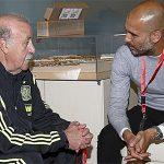 Del Bosque ủng hộ Guardiola làm HLV tuyển Tây Ban Nha
