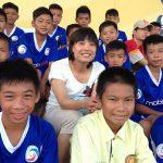 Cựu tuyển thủ Vũ Thị Lành: Bông hoa lạ tại giải U13 toàn quốc