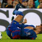 Hàng thủ Barca tổn thất lớn sau đại thắng Man City