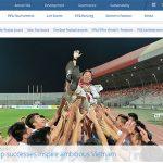 Bóng đá Việt Nam lên trang nhất của FIFA