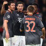 Lewandowski lập cú đúp, Bayern vào vòng 1/8 Champions League