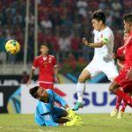 Khoảnh khắc Công Vinh đạt mốc 50 bàn cho tuyển Việt Nam