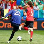 Bàn thắng của tuyển Bỉ lập kỷ lục về số đường chuyền ở Euro