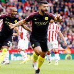 Aguero và Nolito cùng lập cú đúp, Man City dẫn đầu Ngoại hạng Anh