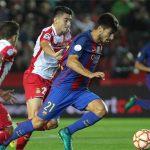 Barca thua Espanyol trong trận tranh Siêu Cup xứ Catalonia