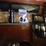 Xe chở đội Indonesia bị tấn công sau trận đấu với Việt Nam