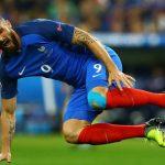 Giroud có nguy cơ lỡ trận bán kết gặp Đức