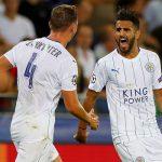 Leicester thắng đậm trận đầu tiên tại Champions League