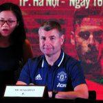 Cựu cầu thủ Man Utd: 'Đội đang chờ cơ hội để đến Việt Nam'