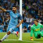 Aguero lập hat-trick, Man City đại thắng tại Champions League