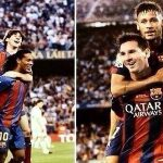 Ronaldinho: 'Messi giúp đỡ Neymar giống như tôi từng làm với cậu ấy'