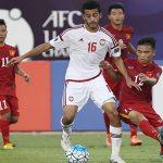 U19 Việt Nam hoà U19 UAE trong thế thiếu người