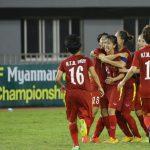 Nữ Việt Nam hạ Myanmar, vào chung kết tái đấu Thái Lan