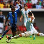 Argentina bị loại khỏi môn bóng đá nam Olympic