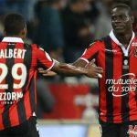 Balotelli lập cú đúp thứ hai liên tiếp, đưa Nice lên dẫn đầu Ligue 1