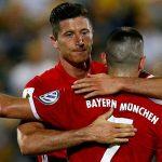 Lewandowski lập hat-trick, Bayern thắng tưng bừng ở Cup quốc gia