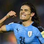 Cavani và Suarez tỏa sáng, Uruguay giữ vững vị trí dẫn đầu