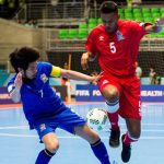 Thái Lan dừng bước ở vòng 1/8 Futsal World Cup