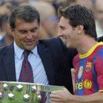 Laporta: 'Nghi án trốn thuế là chiêu trò để đẩy Messi khỏi Barca'