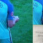 Mật thư Ronaldo nhận giữa trận đấu Hungary gây tò mò