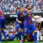 Messi ghi bàn quyết định ở phút bù giờ, Barca trở lại dẫn đầu Liga